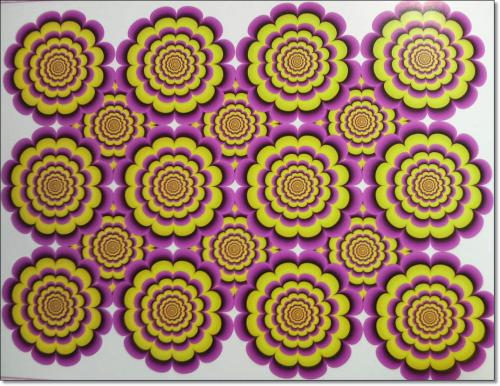 40 500x386 目を疑うトリック画像!35連発!目の錯覚の神秘!