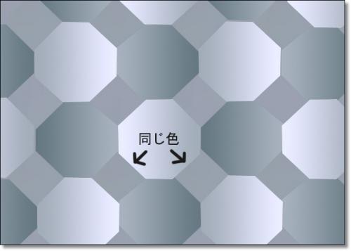 44 500x357 目を疑うトリック画像!35連発!目の錯覚の神秘!